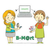 Logo B-M@rt