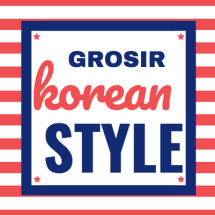 Logo Grosir Korean style