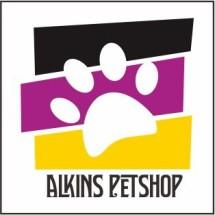 Alkins Pet Shop Logo
