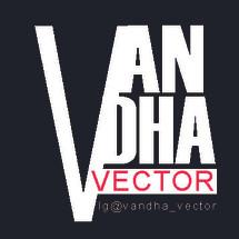 Logo vandha vector