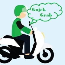 Logo gojek grab bisastore