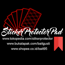 Logo Sticker Protector pad