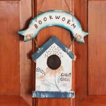 Logo Bookworm Shop