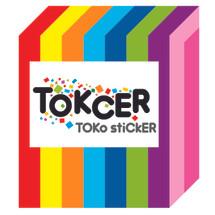 Logo TOKCER TOko stiCKER