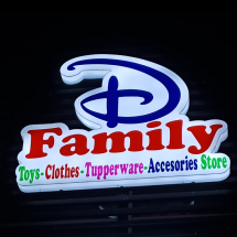 Logo D'Family Store