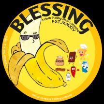 Blessing Keripik Pisang Logo
