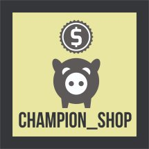 Logo champion_shop