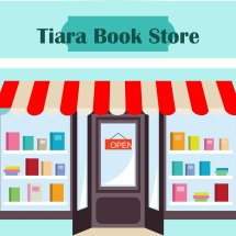 Logo Tiara Book Store