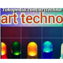 Logo art techno