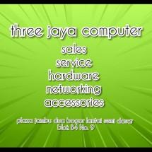 Logo Three Jaya Computer