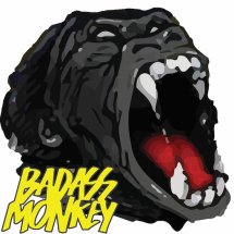 Logo Badass Monkey Indonesia