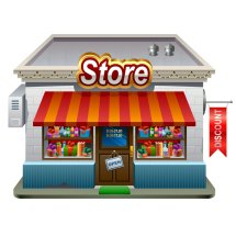 Logo Ghazi's Store