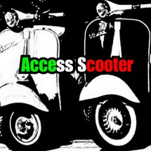 Logo Access Scooter