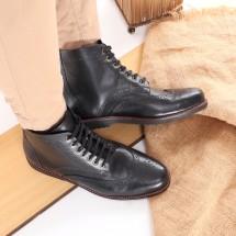 Logo Sepatu Kulit Pria FLV