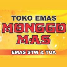 Logo toko emas monggomas
