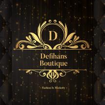Logo Defihans Hanbok Shop