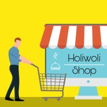 Logo Holiwoli Shop