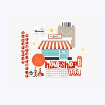 Logo homeshop888