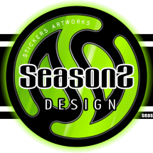 seasons sticker Logo