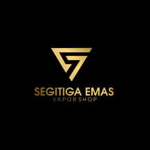 Logo Segitiga Emas Vapor Shop