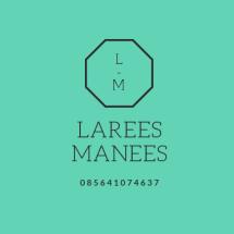 Logo Larees Manees Store
