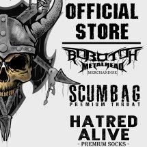 HATRED ALIVE METAL STORE Logo