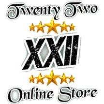 Logo Twenty Two online store