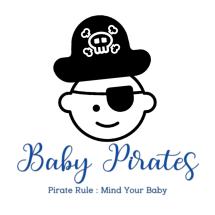 Logo Baby Pirates Shop