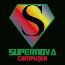 Logo Supernova Computer Depok