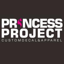 Logo Princess Sticker
