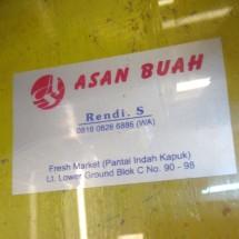 Logo AsanBuahFreshFruit