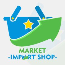 Logo Market Import Shop