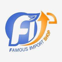 Logo Famous Import Shop