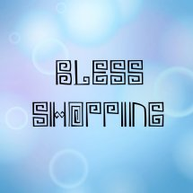 Logo Bless~Shopping