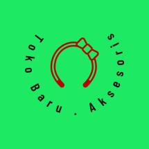 Logo toko baru aksesoris