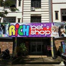 Logo Rich Pet Shop