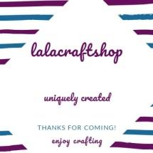 Logo lalacraftshop