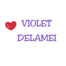 Logo Violet Delamei shop