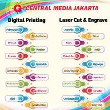 Logo Central Media Jakarta
