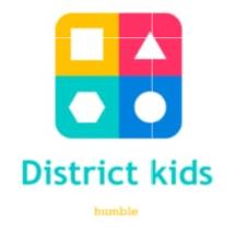 Logo Disrtict kids star