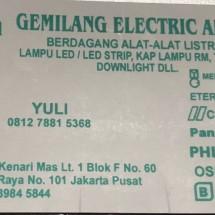 Logo Gemilang Elektrik Abadi