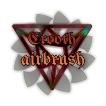 Logo crooth airbrush