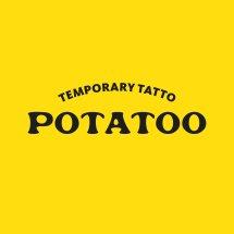 Logo Potatoo Temporary Tattoo