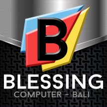 Logo Blessing Computer Bali