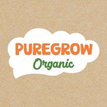 PUREGROW Organic House Logo