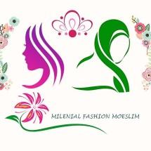 Logo Milenial Fashion Moeslim