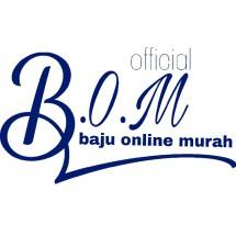 Logo B.O.M baju online murah