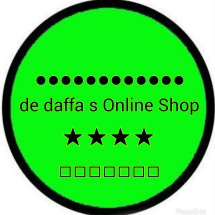 Logo toko daffa jeans fashion