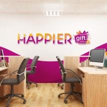 Logo Happier Gift