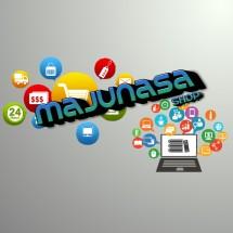 MaJuNaSa_Shop Logo